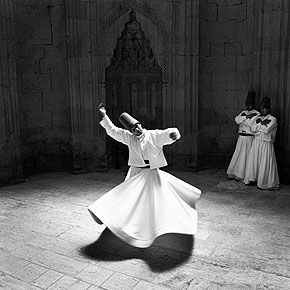 Whirling Dervish, Konya, Turkey. | I saw them in Turkey and, amazingly, at FSU. Mesmerizingly beautiful.
