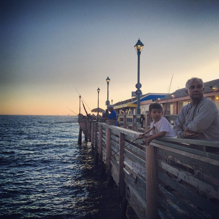 People fishing off of the pier did that a lot a as kid for Redondo beach pier fishing