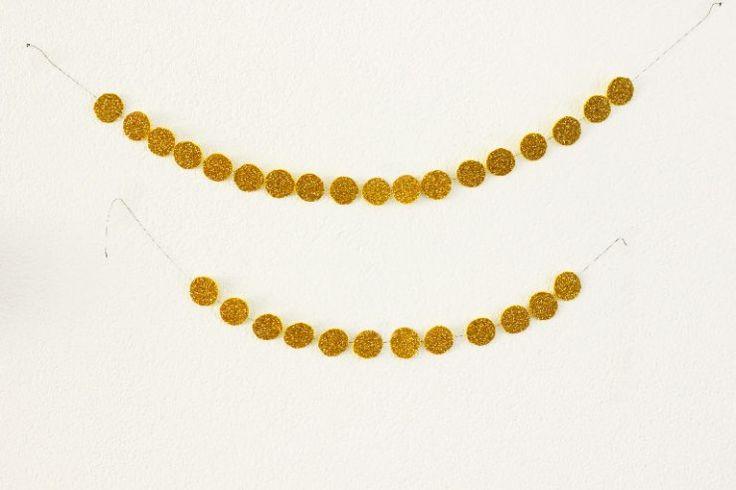 DIY: gouden slinger - ministijl