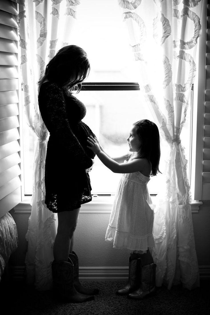 Foto gravidanza silhouette