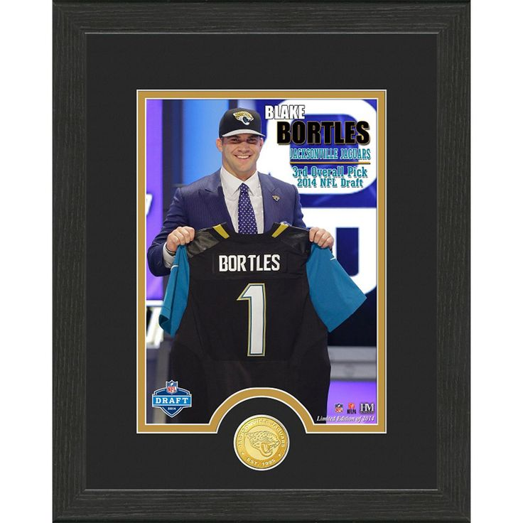 Blake Bortles Draft Day Bronze Coin Photo Mint