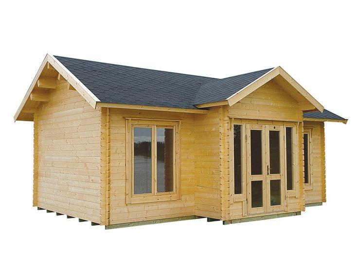 8 best small log cabin kits images on pinterest log for Large log cabin kits