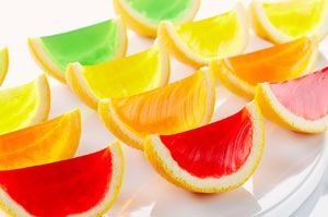 Tranches de JELL-O aux fruits