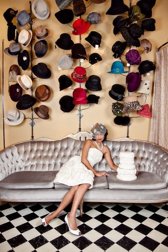 Fancy hat wall... <3 this