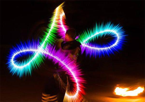 Fireshow i Lightshow na Wesele