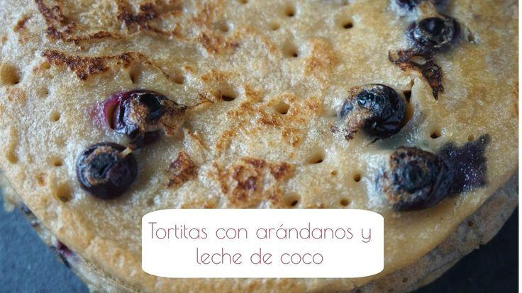 Tortitas con arándanos y leche de coco | EL DESAYUNO DE LOS DOMINGOS ❤︎
