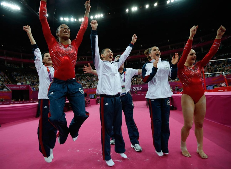 London Olympics Emotional Moments: Summer Olympics, London 2012, Gymnastics Women, Olympics London, Olympics 2012, London Olympics, Artists Gymnastics, Women Gymnastics, Team Usa