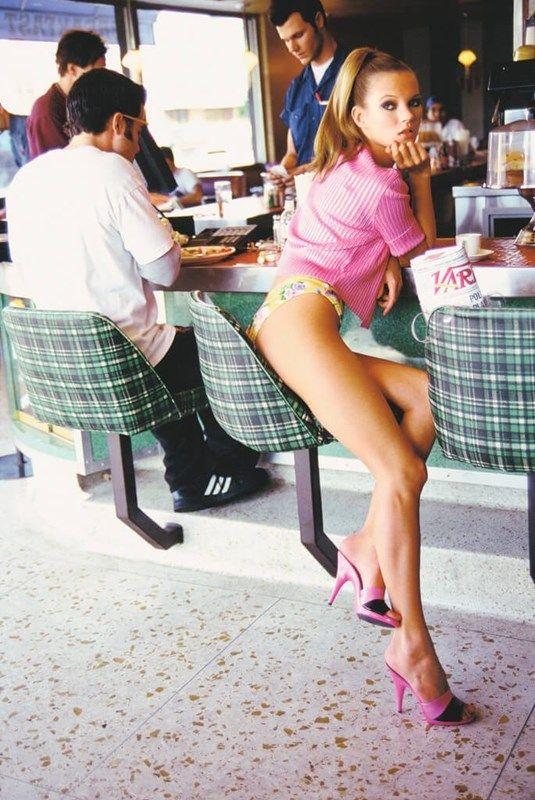 Kate Moss by Arthur Elgort