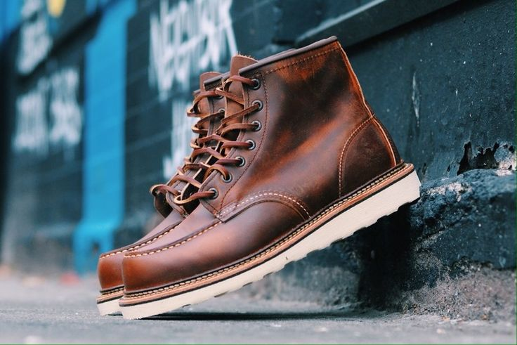 Red Wing 1907 Copper Rough & Tough