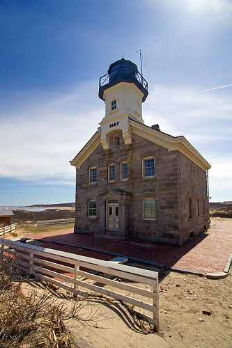Block Island North Lighthouse, Rhode Island       #VisitRhodeIsland