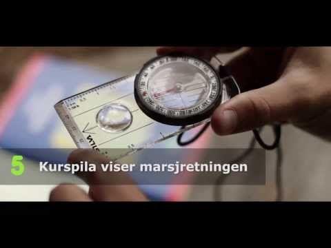 Bruk av kart og kompass - YouTube