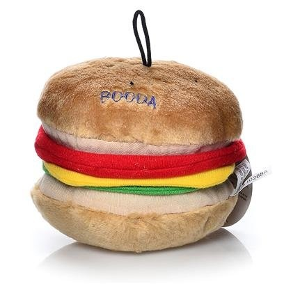 Aspen Pet Booda Plush Big Burger Large Dog Toy « Pet Lovers Ads