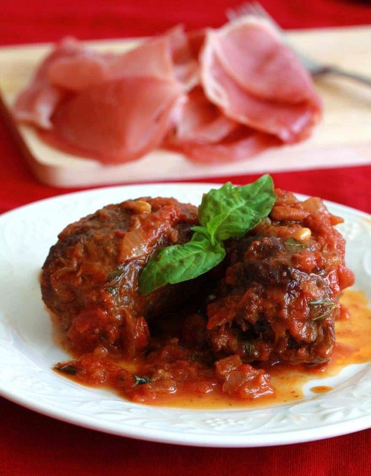 Braciole Involtini di Manza Italian Beef Rolls