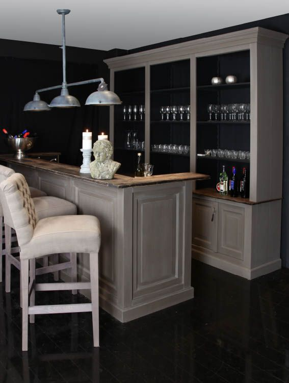 Home Bar Restoration Hardware Style Wet Bar Remodel Pinterest Bar Trolley Caves And