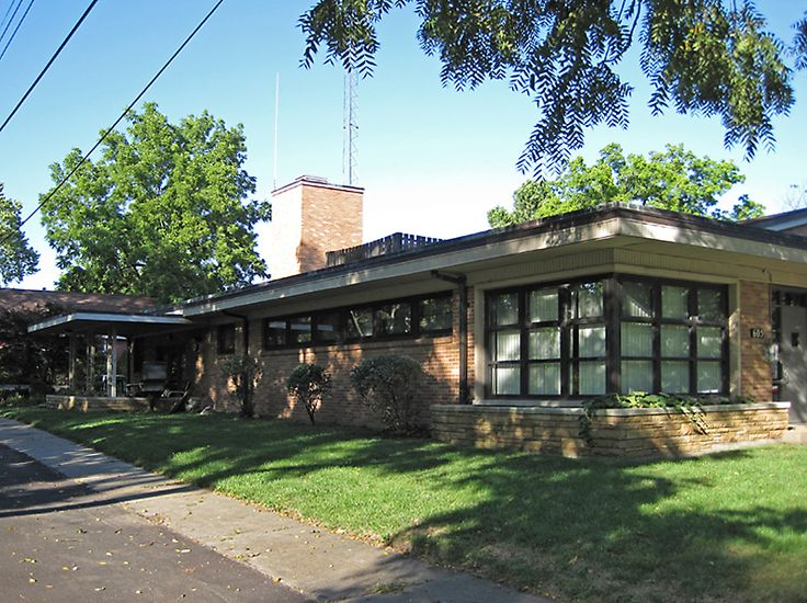 1075 best images about mid 20th century architecture on for Mid century modern ranch style house plans