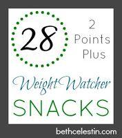 Weight Watcher Snacks 2 Points Plus
