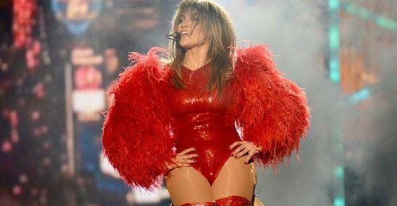Jennifer Lopez a Las Vegas per una serie di spettacoli esplosivi