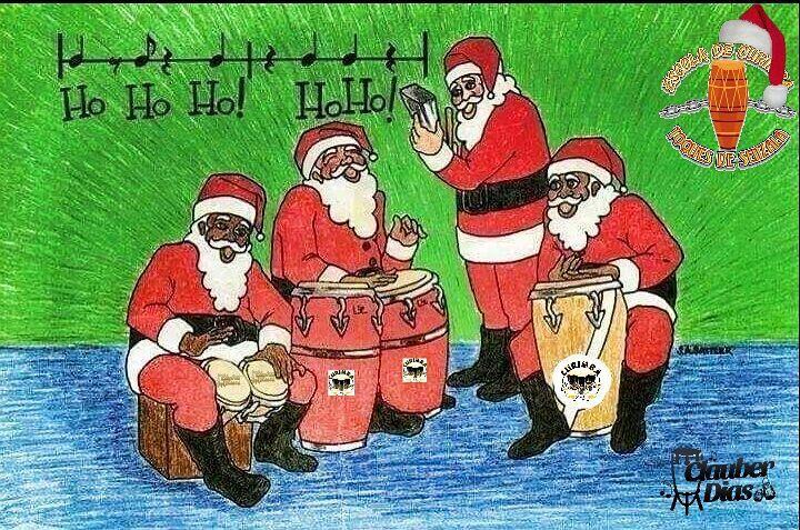 #feliz #natal #curimba #clauberdias #familia #escola #curimba #toques #senzala #umbanda #ogas #orixas #batuque #atabaque by clauber_dias