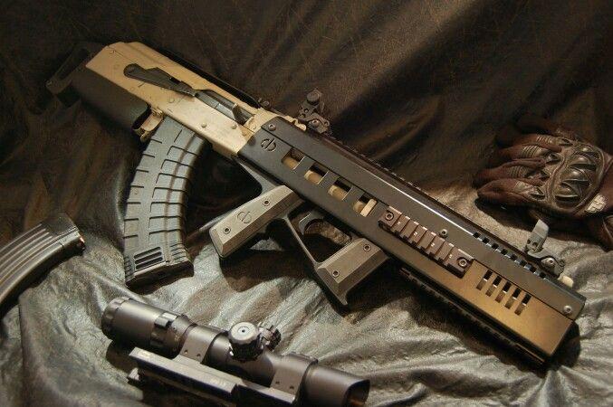 CBRPS Spike X1S/WASR-10 Bullpup AK