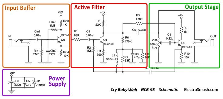 5e72847abfc4348906e1c5d974fc5779 wau wau crybaby cry baby wah gcb 95 schematic parts small wau wau pinterest crybaby gcb-95 wiring diagram at eliteediting.co