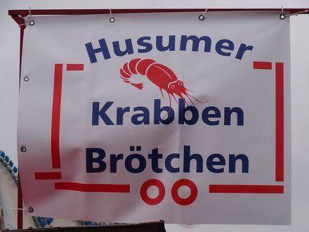 Hüsem / Husum (Schleswig-Holstein, Kreis Nordfriesland) - Husumer Krabben Brötchen