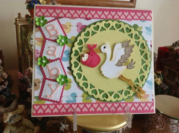 17 best images about stork baby shower on pinterest gift for Baby shower paper crafts