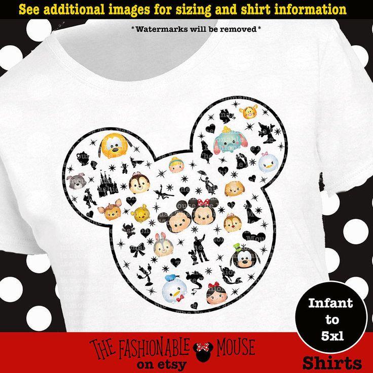 Disney Tsum Tsum Mickey Head Shirt, Disney Tsum Tsum Shirt, Mickey Mouse Tsum Tsum Shirt, Mickey Shirt, Mickey Mouse Shirt by TheFashionableMouse on Etsy