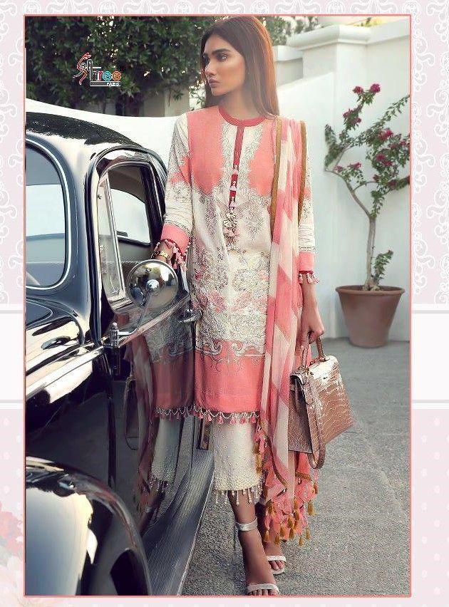 67f44c3957 Shree Fabs Sana Safinaz Muzlin Collection Vol-2 Pakistani Suit (8 Pc Set)