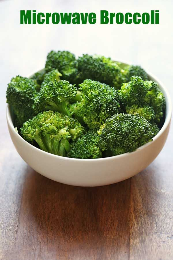 A Simple Recipe For Microwave Broccoli The Easiest Way To Prepare The Vegetable Steaming Broccoli In Microwave Broccoli Recipes Healthy How To Cook Broccoli