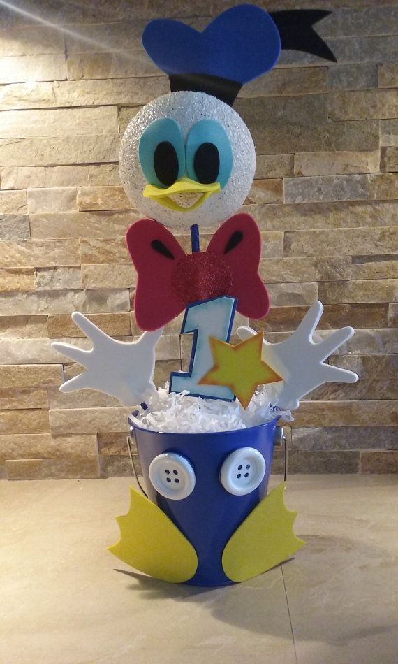 Check out this item in my Etsy shop https://www.etsy.com/listing/279505136/donald-ducks-centerpieces
