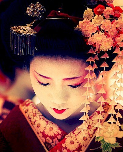Dress up as a geisha and walk the streets of kyoto