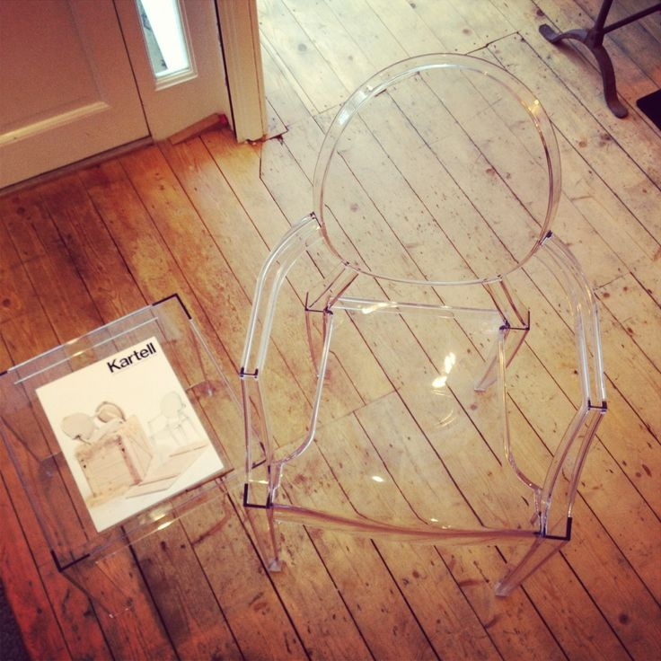 Louis Ghost Chair and Jolly Table by Kartell