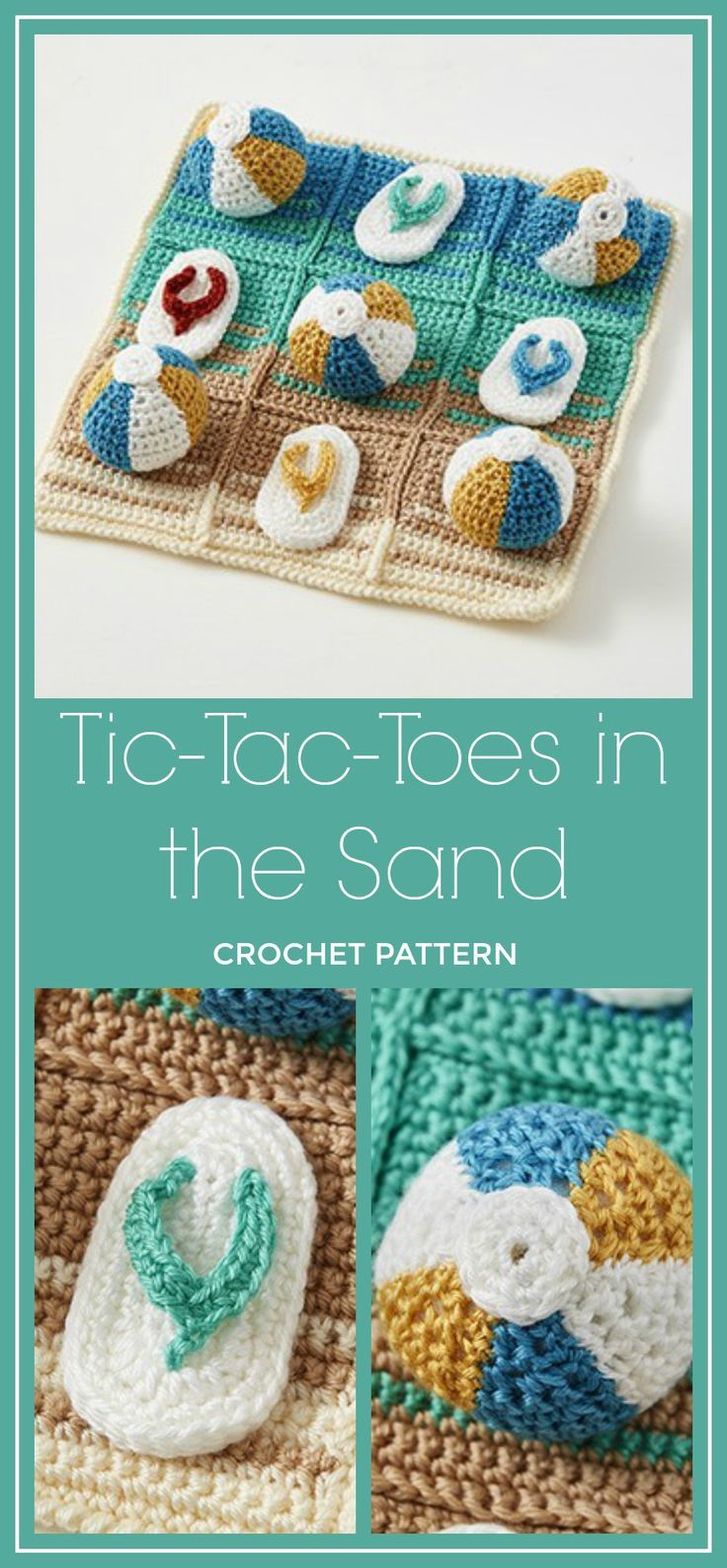 Fun Crochet Pattern The Whole Family Will Enjoy A Game Of Tic Tac