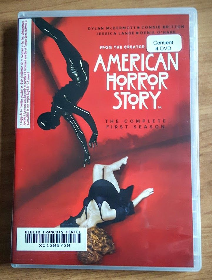 American horror story : the complete first season : Murder house (vd00868)
