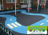 SUDS Porous Permeable Playground Rubberised Safety Surfaces