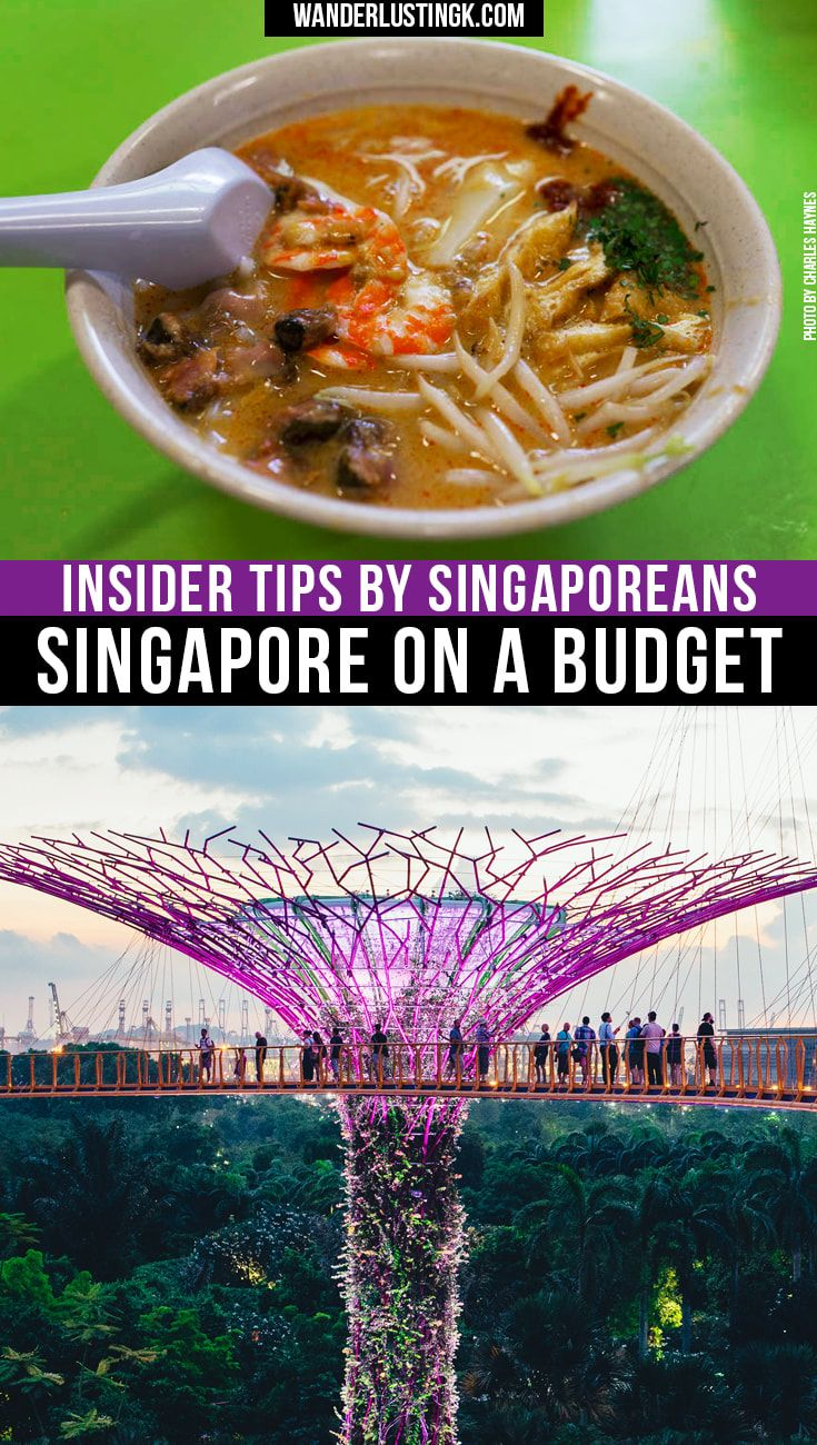 Visiting Singapore on a Budget? Tips for Singapore by locals on things to do in Singapore, where to eat in Singapore on a budget & famous food in Singapore
