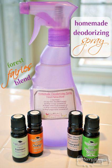 Homemade Deodorizing Spray – Non-Toxic and Green