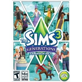 The Sims 3: Generations, (the sims 3, pc game, sims, sims 3, sims 3 expansion packs, electronic arts, games)