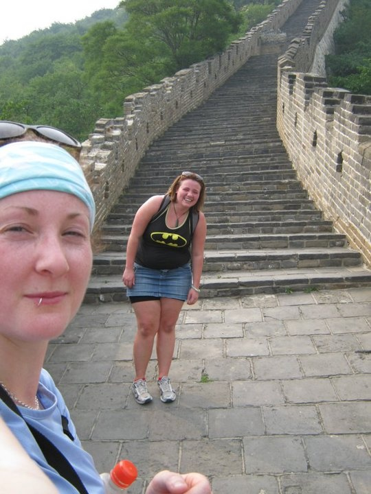 A Lot of steps to get to the top! - Great Wall, near Beijing