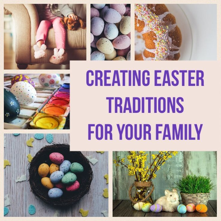 Easter is a special family holiday for us. Here are ideas for Easter Traditions. Activities for the lead up and celebrating Easter weekend.