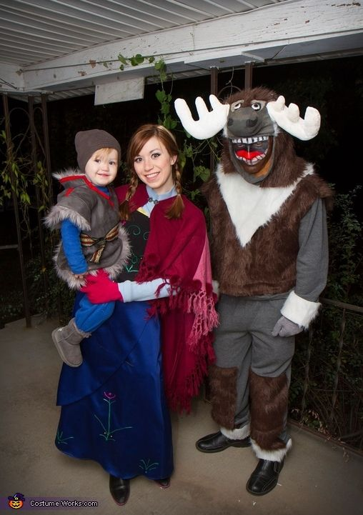 frozen family homemade halloween costume - Utah Halloween Stores