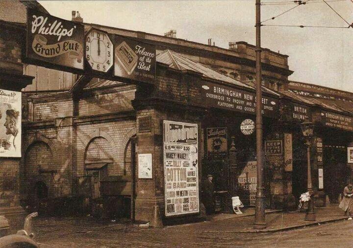 New Street Station 1950