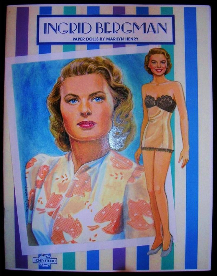 Movie Stars Paper Dolls - Home Page-Paper Dolls