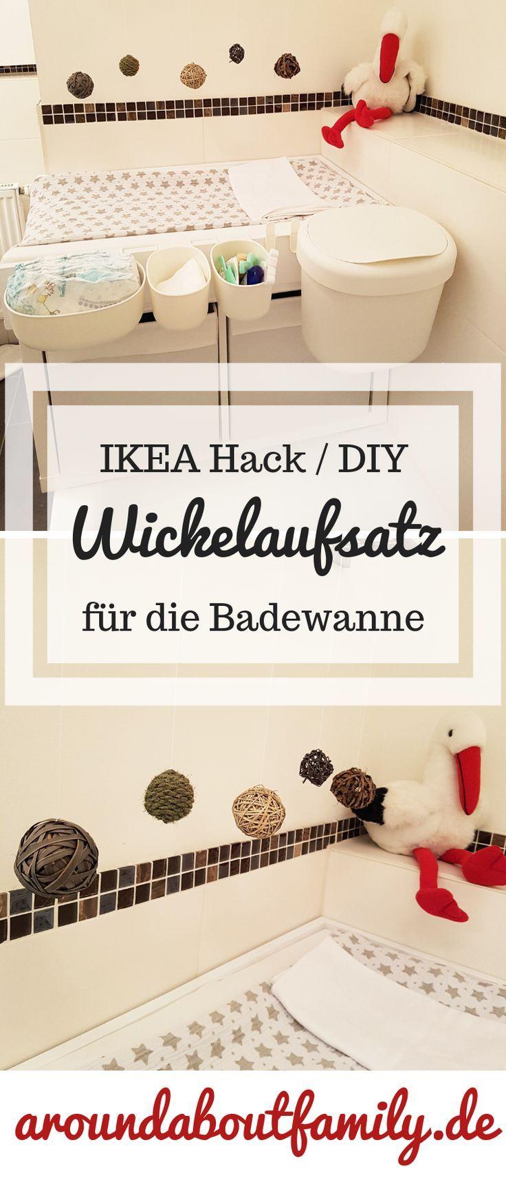 So Einfach Kann Man Einen Wickelaufsatz Fur Die Badewanne Selber Machen Ikea Hack Wickelaufsatz Ikea Selber Machen Ikea