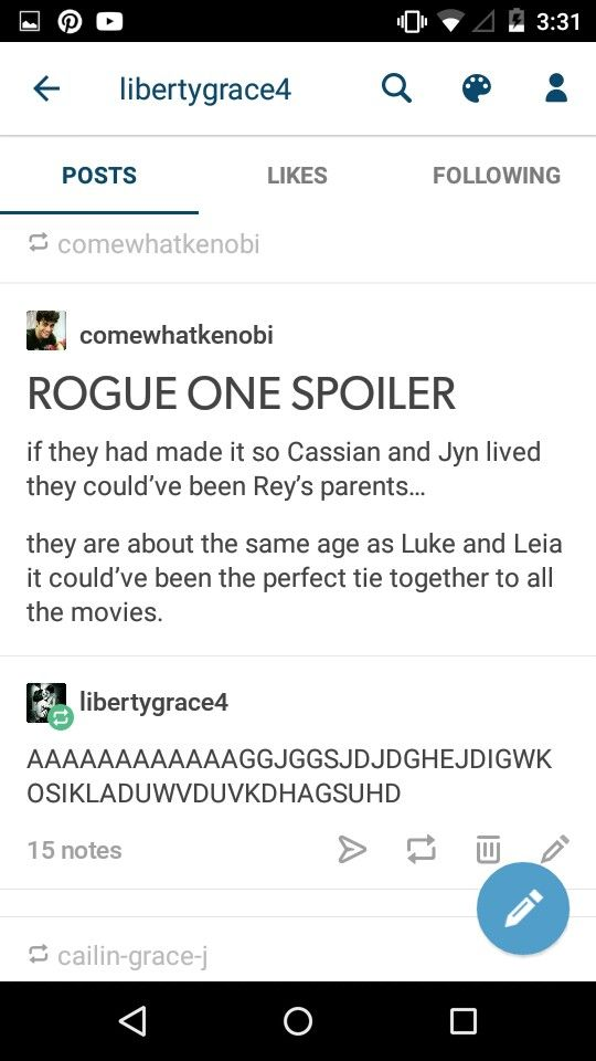 THIS SHOULD HAVE HAPPENED I'M SO FREAKING DONE #REBELCAPTAIN