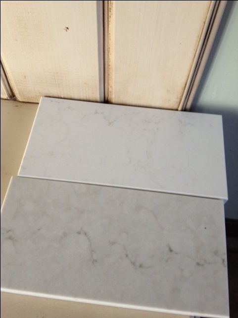 New Caesarstone Frosty Carrina & London Gray light marble looks - Kitchens Forum - GardenWeb