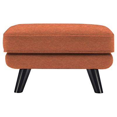 Buy G Plan Vintage The Sixty One Footstool, Tonic Orange online at JohnLewis.com - John Lewis