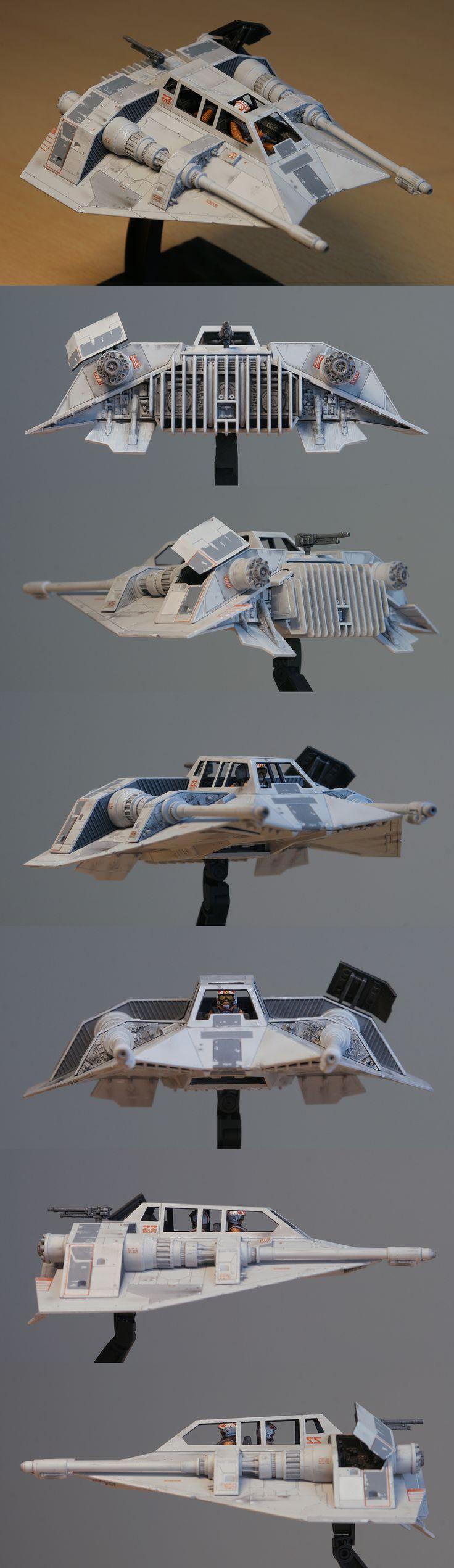 Bandai 1:48 Scale Star Wars Snowspeeder