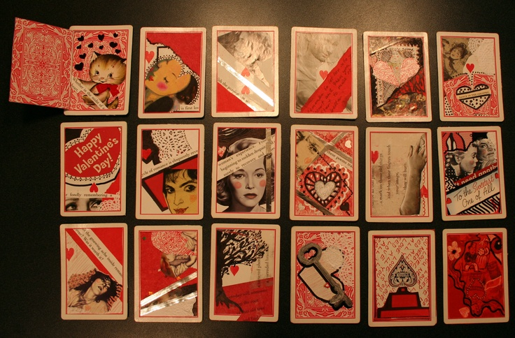 Artist trading cards I made for an AP Studio Art class I took a few years ago