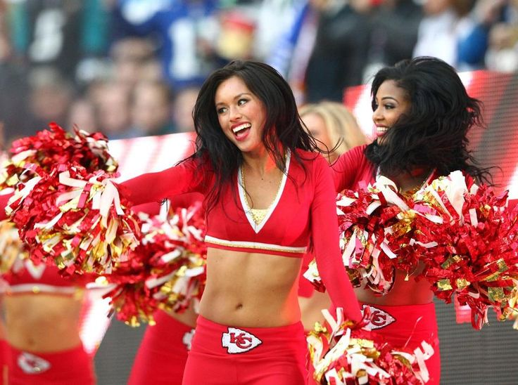 Photo Gallery: Kansas City Chiefs Cheerleaders at Wembley Stadium